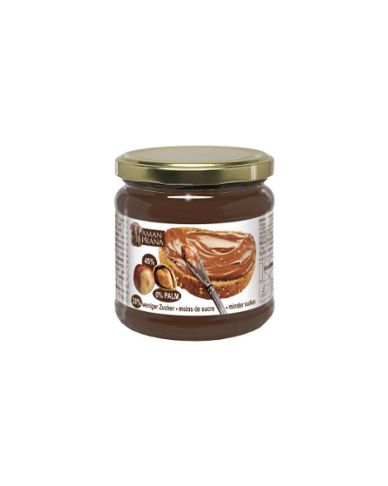 Pâte à tartiner bio et sans huile de palme, Amanprana