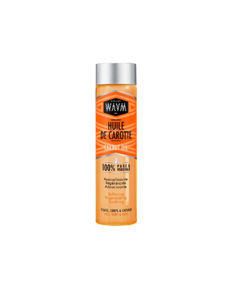 Huile de carotte visage, cheveux et corps, WAAM