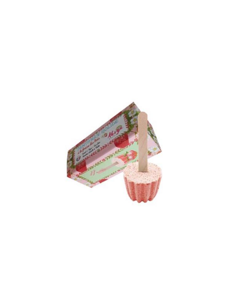 Dentifrice solide à la fraise, Akoya