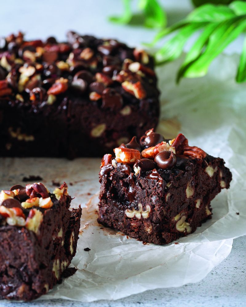 brownie pécan haricots rouges