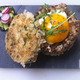 Veggie burger thaï