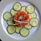 Tartare de saumon à la bourrache