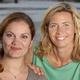 Manuella Radenne et Marie Eloy fondatrice de l'école des Mimosas
