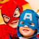 Enfants déguisement spiderman super héros