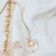 DIY collier coquillage
