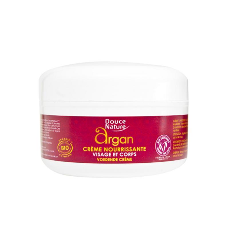 crème nourrissante argan