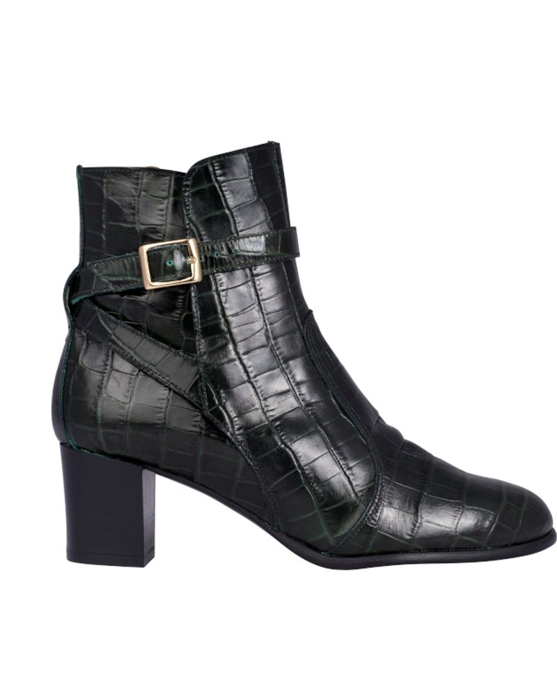 "EMZI, bottines ""Karah croco"""