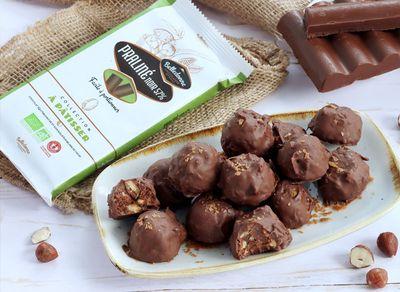 Rochers praliné chocolat noir