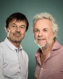 Nicolas Hulot et Frédéric Lenoir