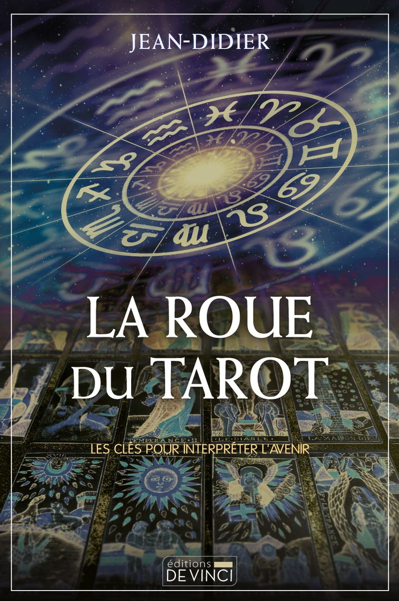 Couverture La roue du tarot Jean-Didier