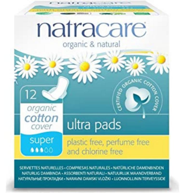 12 serviettes Natracare