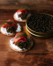 Recette aphrodisiaque caviar