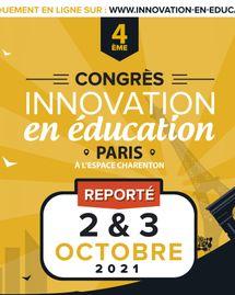 Congrès Innovation en éducation - Octobre 2021