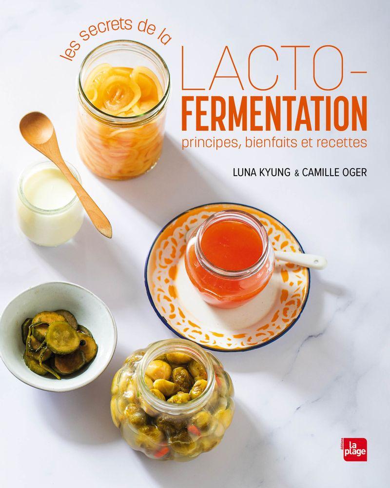Les secrets de la lacto fermentation, éditions La Plage