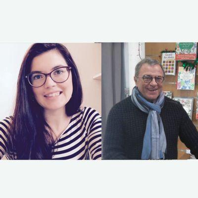 Caroline Gayet et Michel Pierre