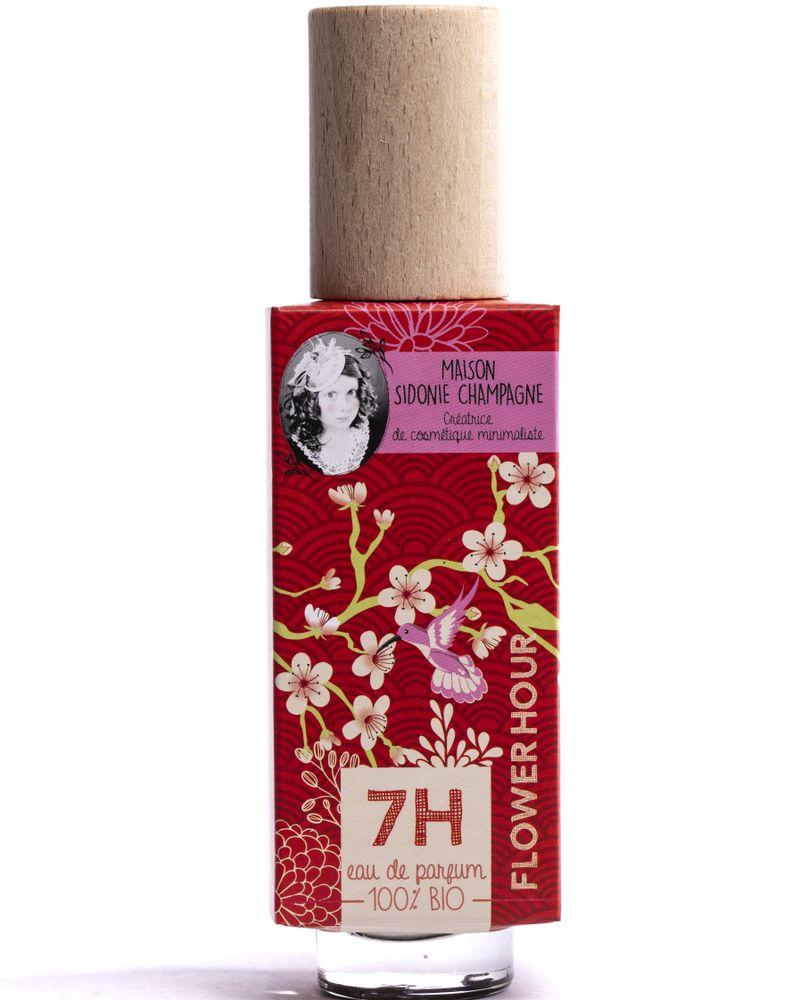 Parfum Flower hour, La Maison Sidonie Champagne