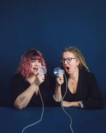 Mathou et Sophie Adriansen