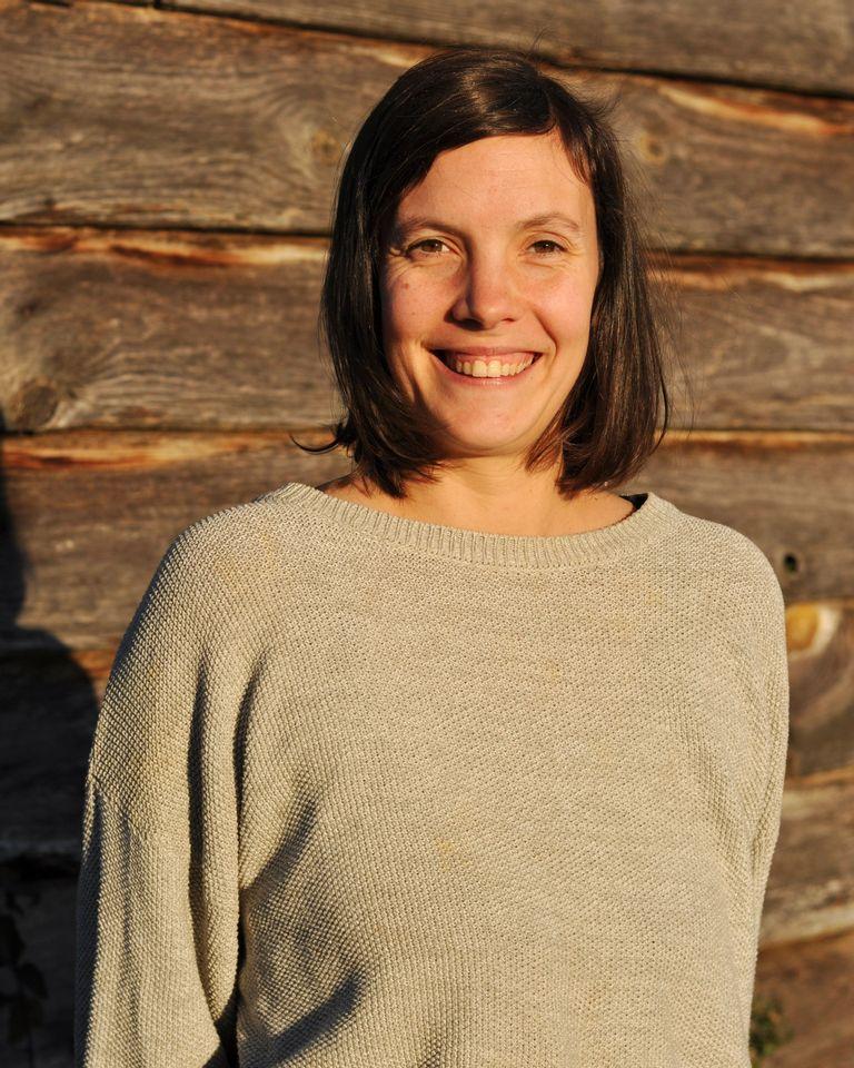 Julie Toutin, auteure de Naître ici