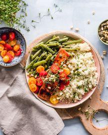 6 recettes de salades complètes pour le printemps et l'été