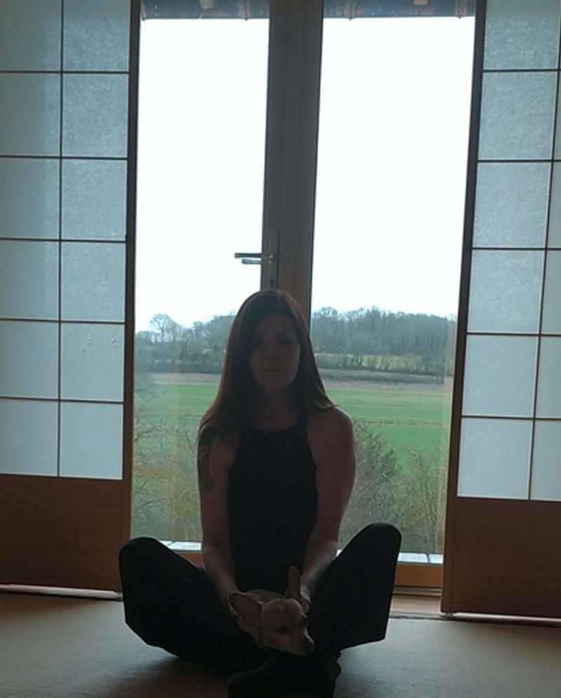 Marie-Paule Puissegur, pratiquer le doga