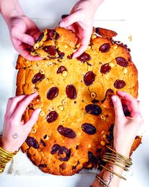 La recette du cookie géant du chef Juan Arbelaez