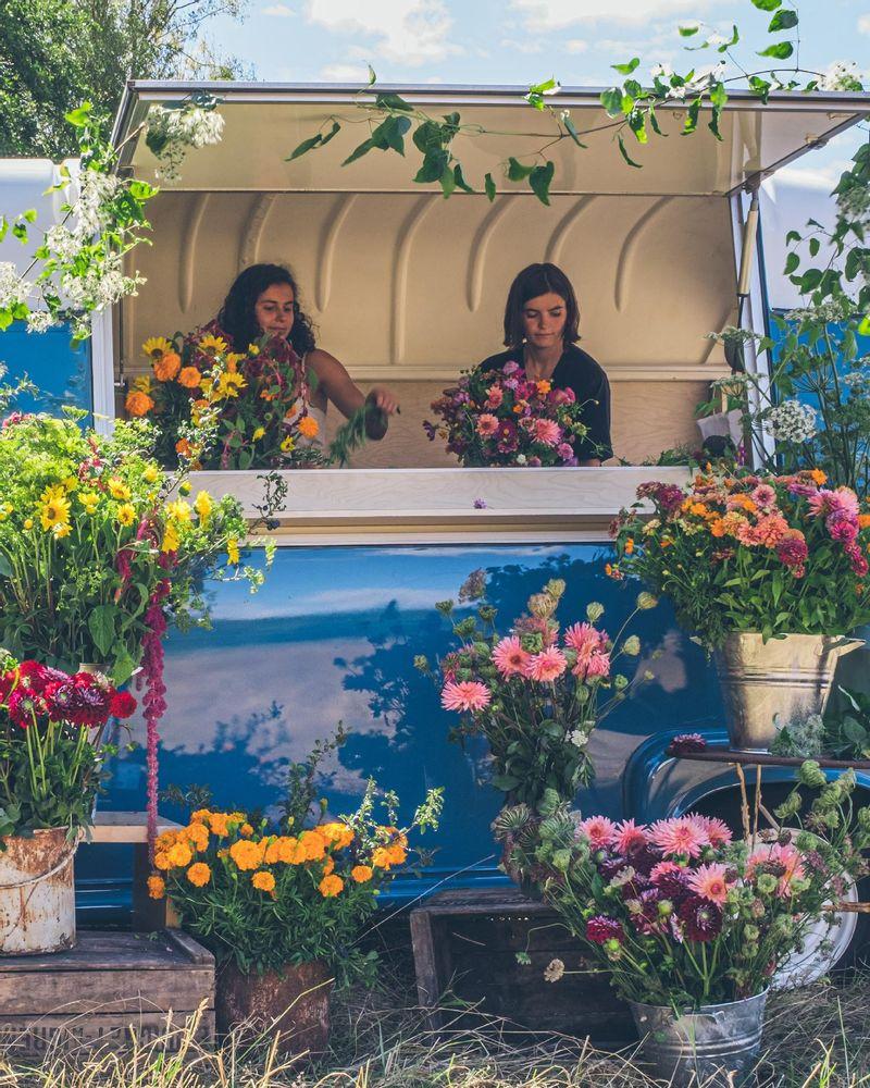 Le Camion à fleurs