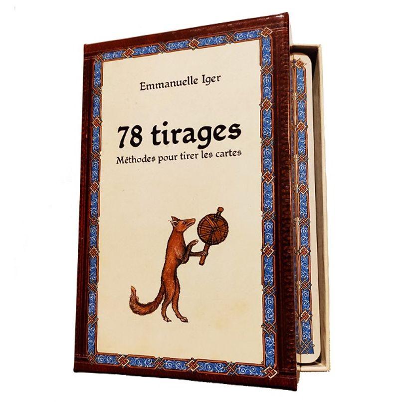 Le coffret 78 tirages : méthodes pour tirer les cartes, Emmanuelle Iger