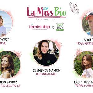 La Miss Bio 2021 : les votes sont ouverts !