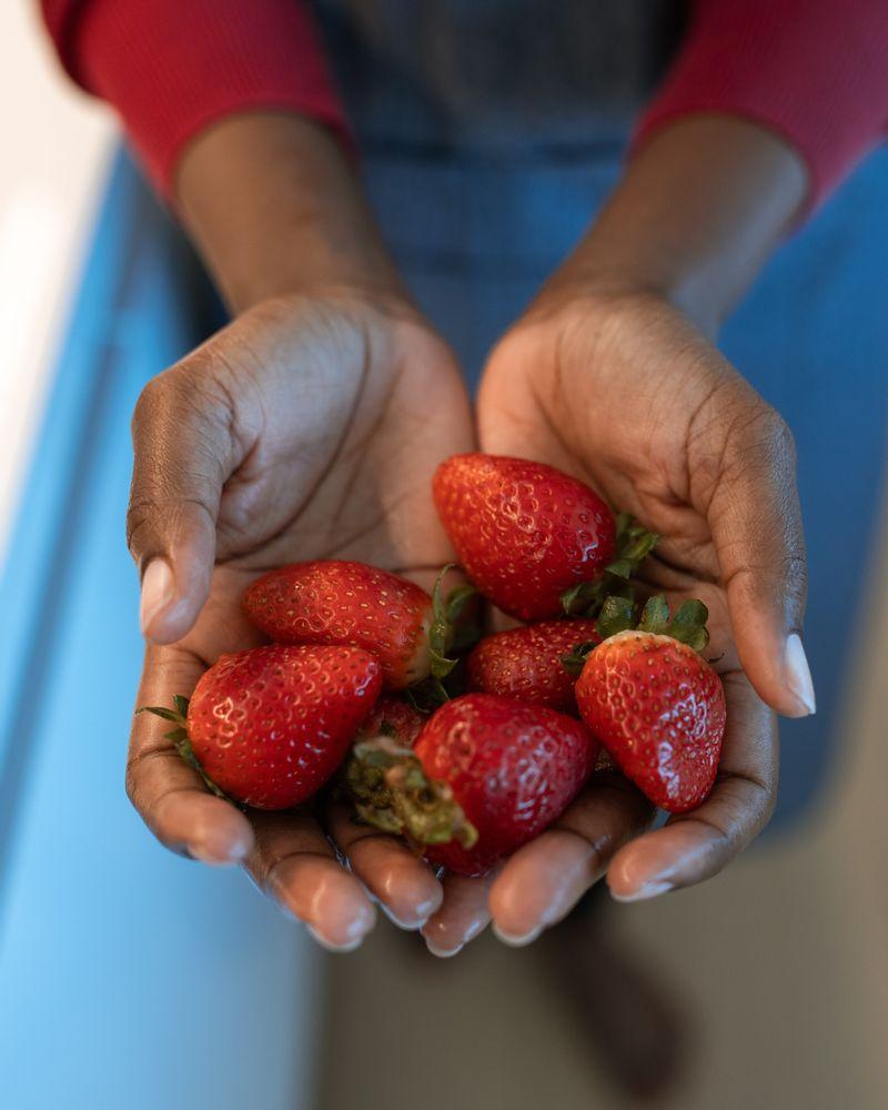 La fraise, un fruit peu calorique