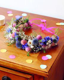 DIY : Couronne de fleurs