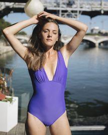 Maillot de bain swim violet indigo, Réjeanne