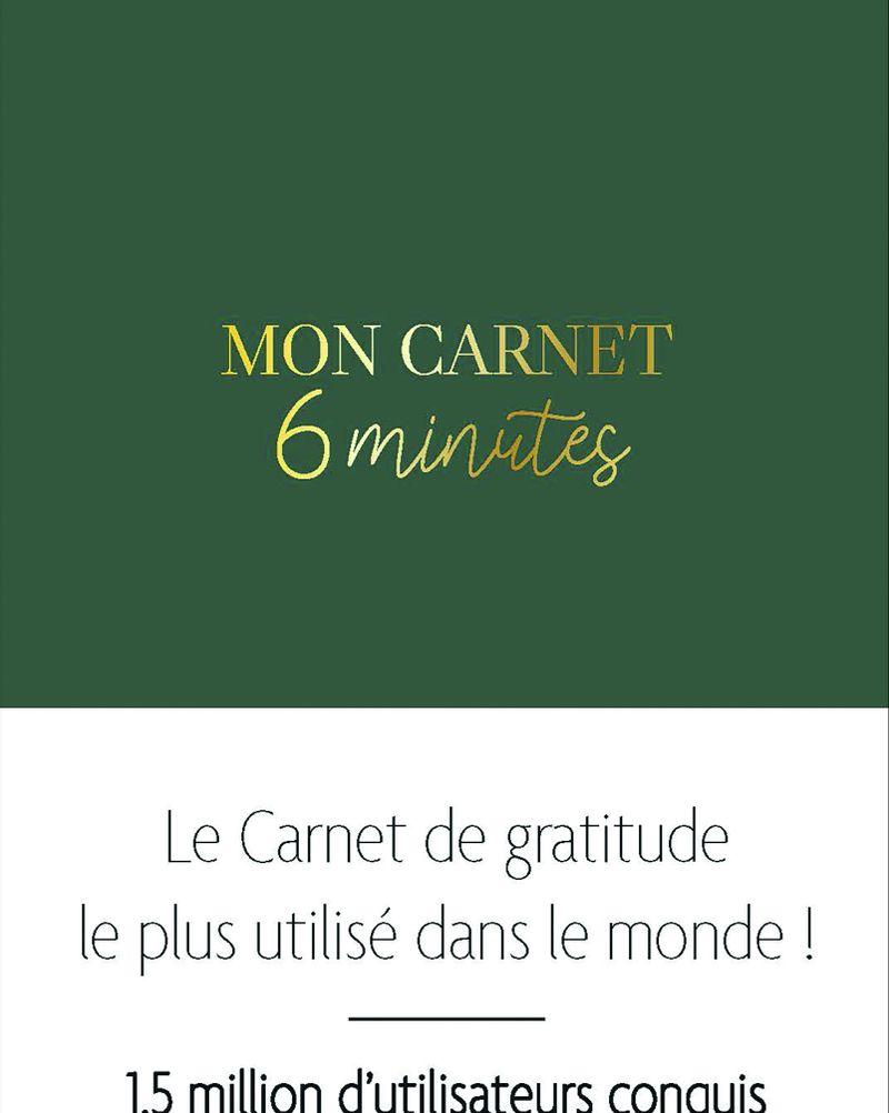 Mon carnet 6 minutes, Dominik Spenst, Coédition Leduc.S. x Le Papier