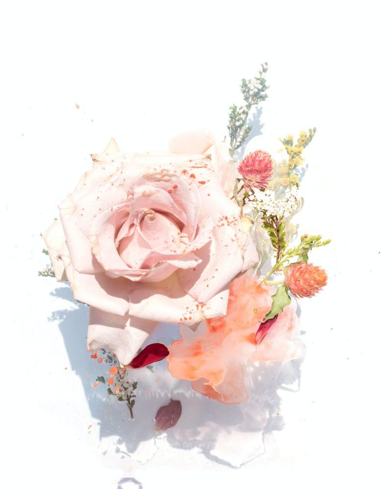 Encens naturels - rose