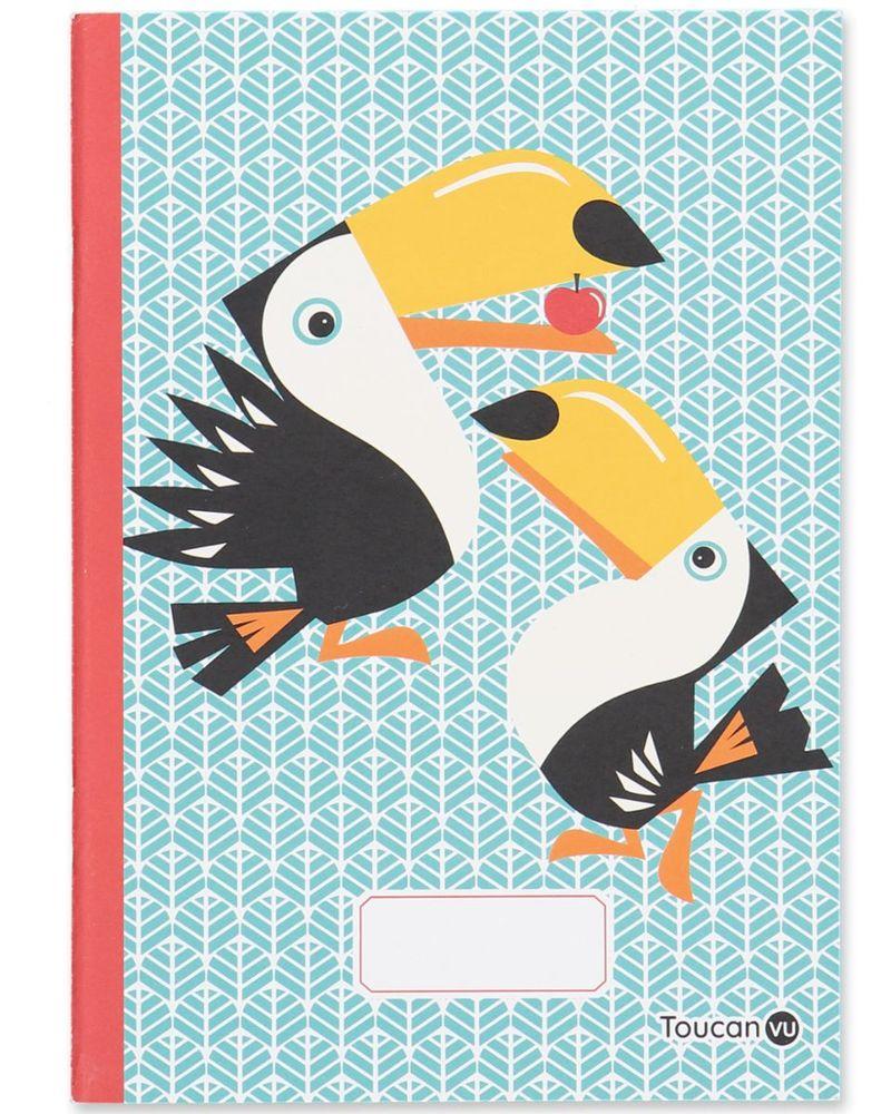 Coq en pâte, cahier toucan