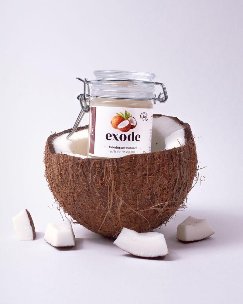 Exode, Le déodorant bio à l'huile de nigelle
