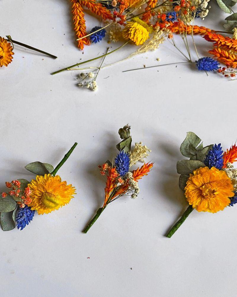 Couronne fleurs Zak étape 3