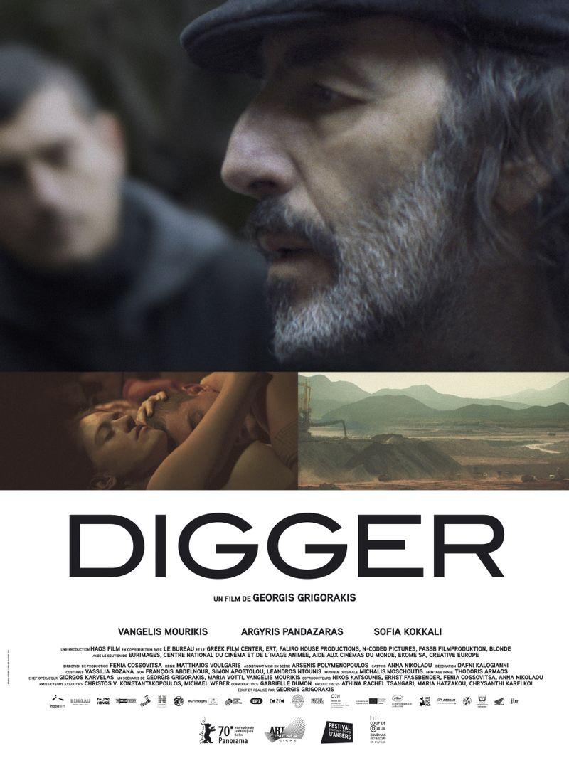 Digger affiche du film