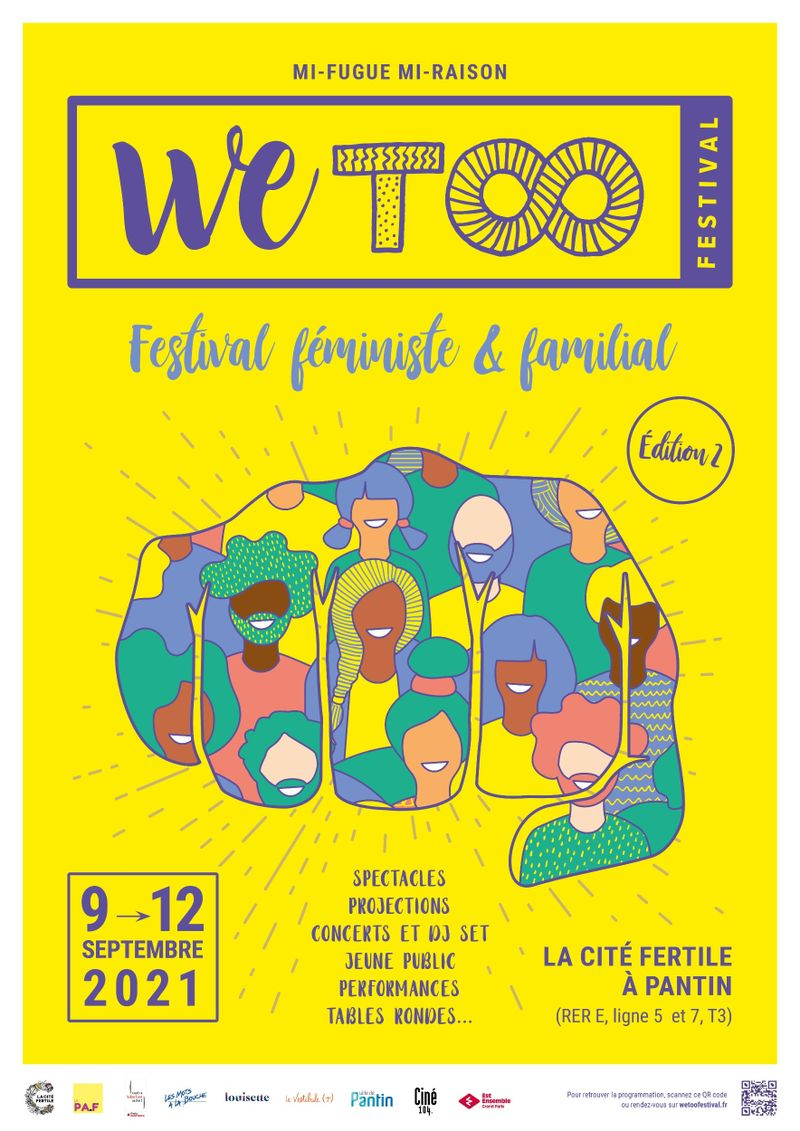 WeToo festival 2021 affiche