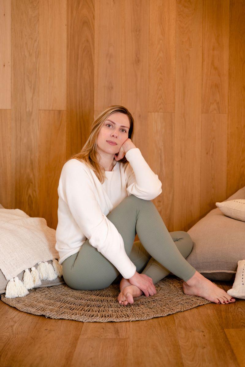 Marine Baaklini Yoga des hormones