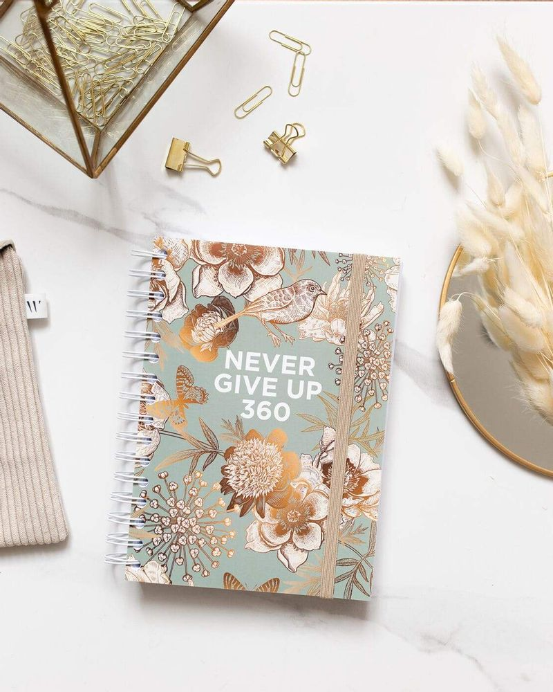 Never give up 360 agenda
