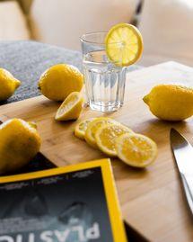 eau detox citron