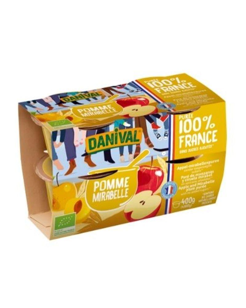 Purées de fruits Danival
