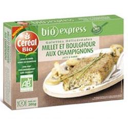 Assiette du jardinier et sa galette de Millet