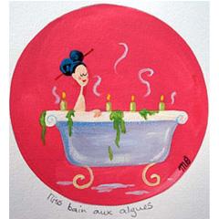 Miss bain aux algues