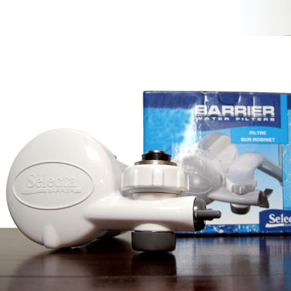 Barrier water filters