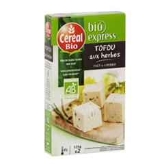 Tofou aux herbes - Cereal bio