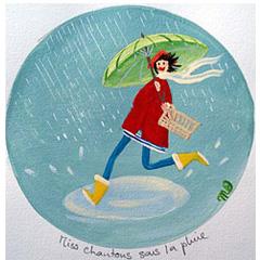 Miss chantons sous la pluie