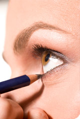 Les crayons de maquillage