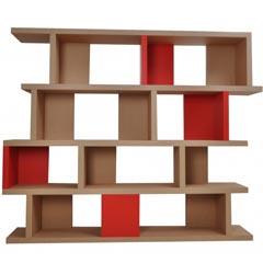 Bibliothèque carton