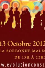 1er Forum International de l'Evolution de la Conscience le 13 octobre 2012